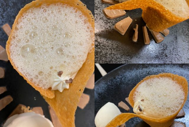 restaurant la Table 101, plats